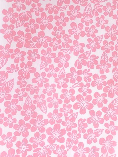 画像1: 手ぬぐい 葉桜