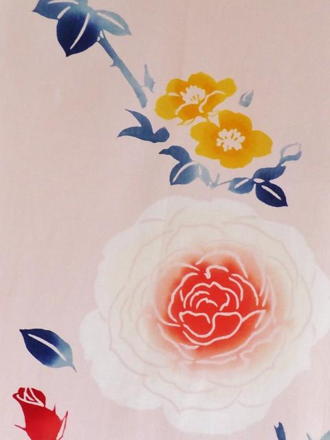 画像2: 手ぬぐい バラ