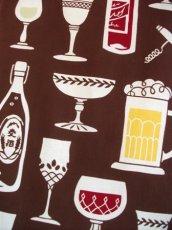 画像1: 手ぬぐい 今宵の酒 (1)