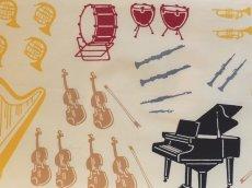 画像1: 手ぬぐい オーケストラ (1)