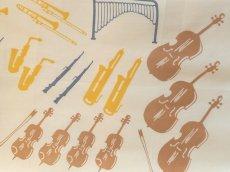 画像2: 手ぬぐい オーケストラ (2)