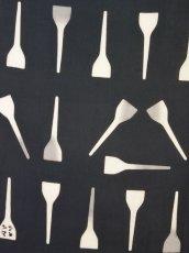 画像2: 手ぬぐい はがし 鉄板色 (2)