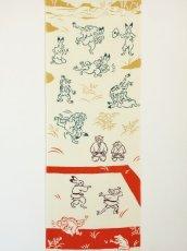 画像3: 手ぬぐい 鳥獣戯画 柔道 (3)