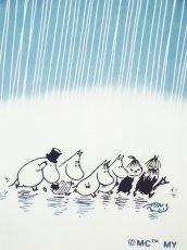画像1: ムーミン手ぬぐい 雨 (1)