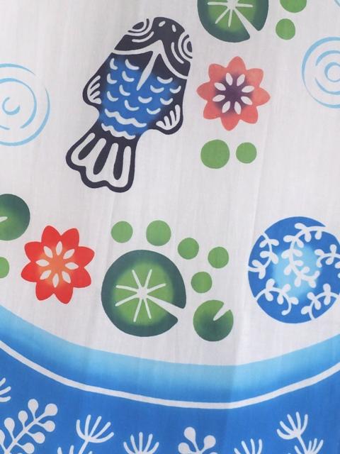 画像2: 手ぬぐい 浮き玉金魚
