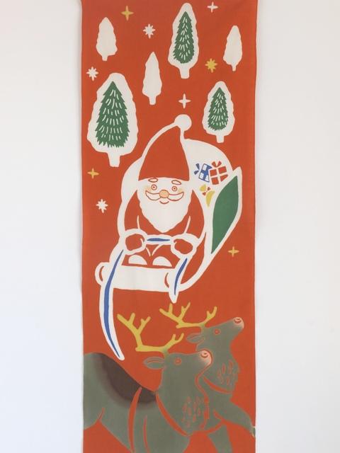 画像3: 手ぬぐい サンタの配達