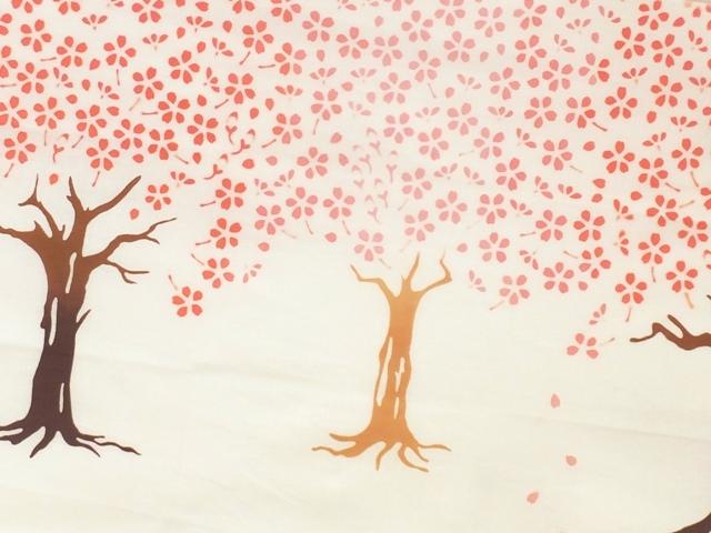 画像1: 手ぬぐい 桜の翁