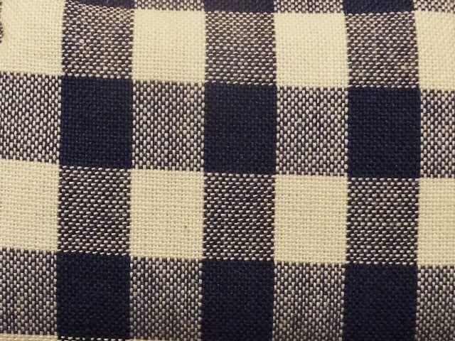 画像2:   【お買い得 36%OFF】【ラスイチ】  久留米絣のがまぐち わらびもち 藍色