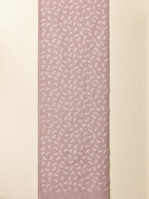 画像2:  【ラスイチ!】 手ぬぐい 子トンボ 薄紫