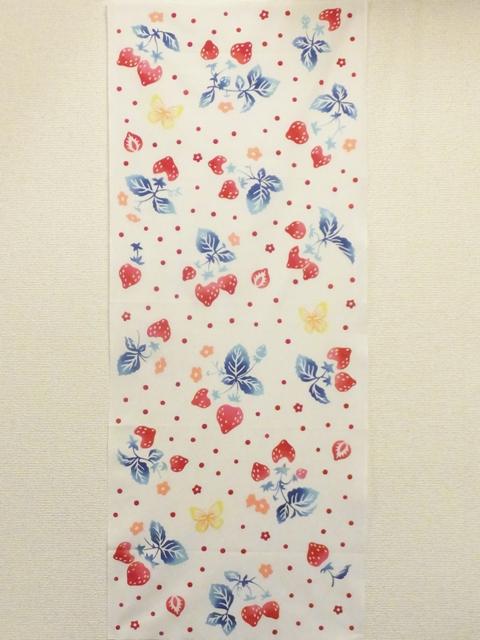 画像3: 手ぬぐい 花いちご