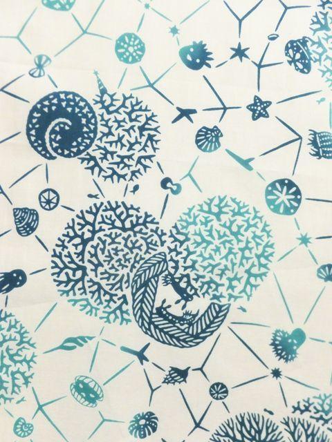 画像2: 手ぬぐい 海底の星 クール