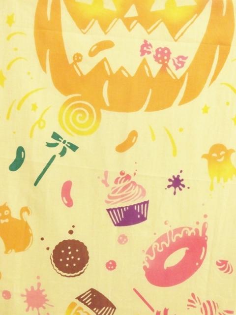 画像1:  【ラスイチ!】 手ぬぐい ハロウィンキャンディ