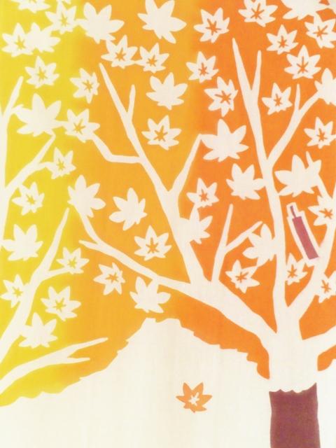 画像2: 手ぬぐい 紅葉