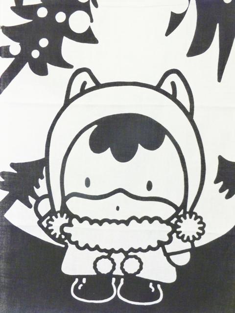 画像1: 手ぬぐい ぐんまちゃん(モミの木)