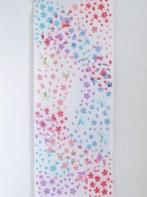 画像3: 手ぬぐい 桜吹雪
