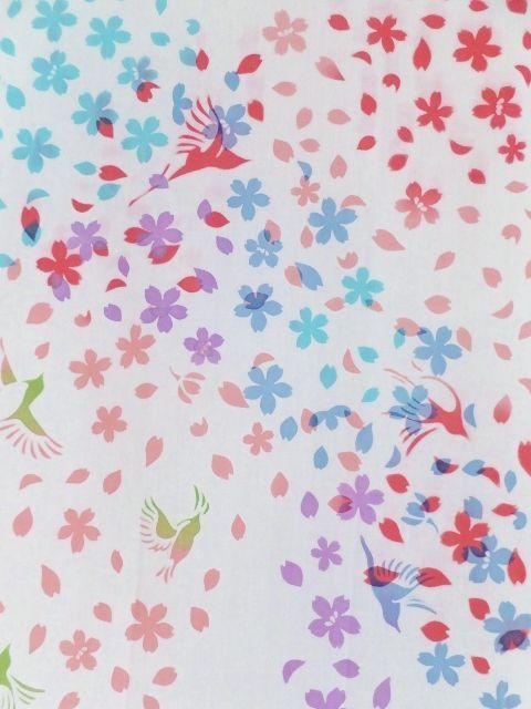 画像1: 手ぬぐい 桜吹雪