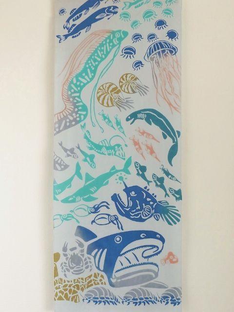 画像3: 手ぬぐい 深海魚