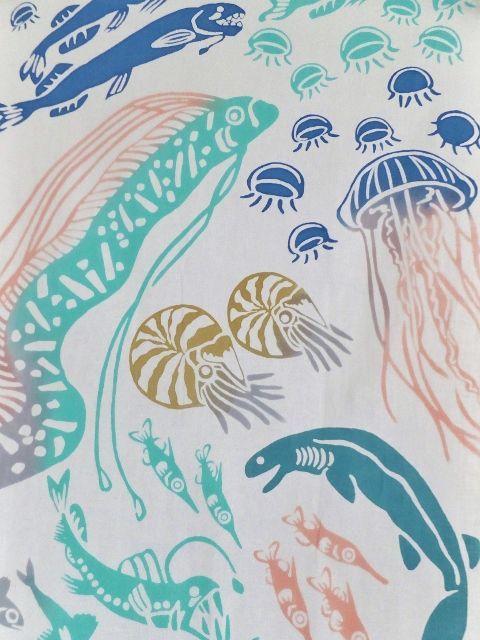 画像2: 手ぬぐい 深海魚