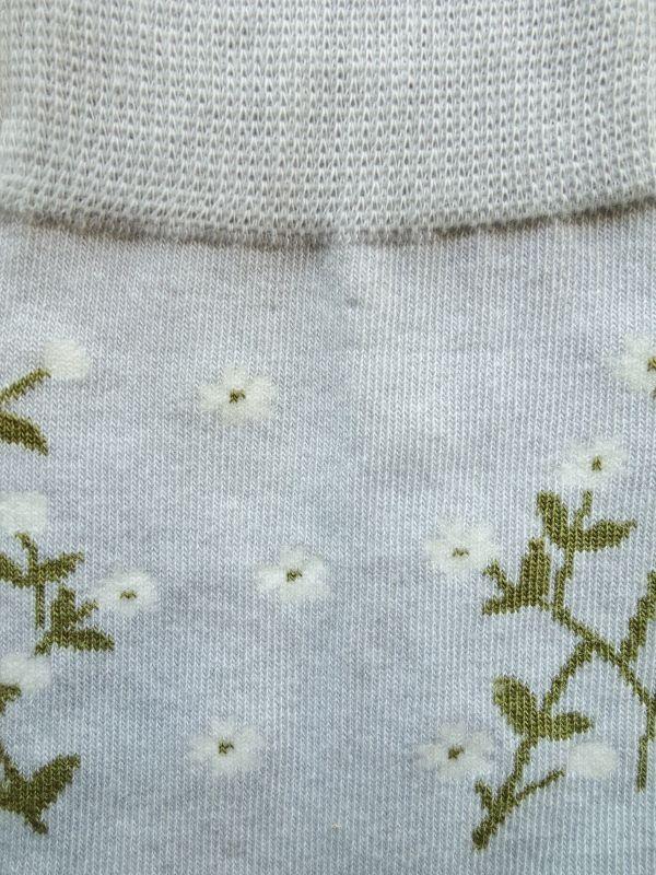 画像2: 星燈社の丸編み靴下 はこべ