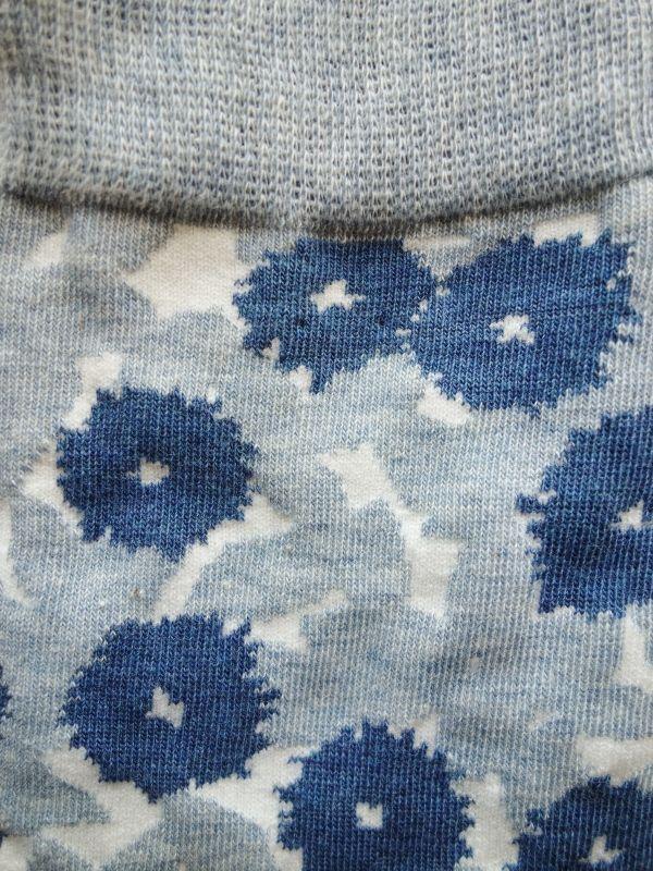 画像2: 星燈社の丸編み靴下 花化粧