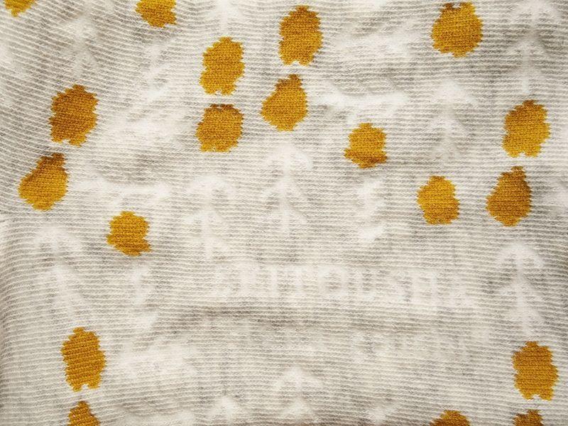 画像3: 星燈社の丸編み靴下 花格子