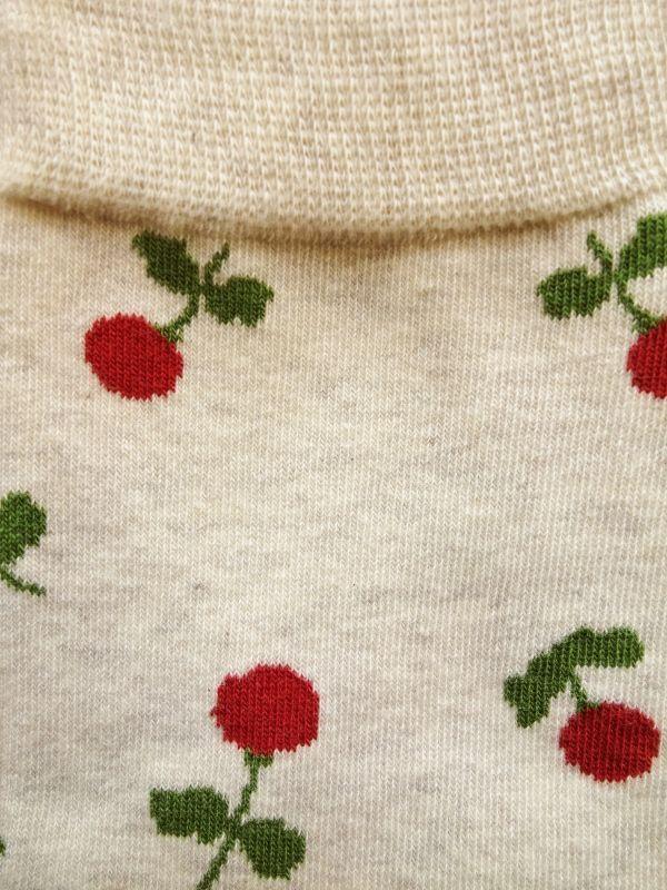 画像2: 星燈社の丸編み靴下 木いちご