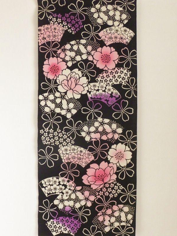 画像3: 手ぬぐい 桜扇