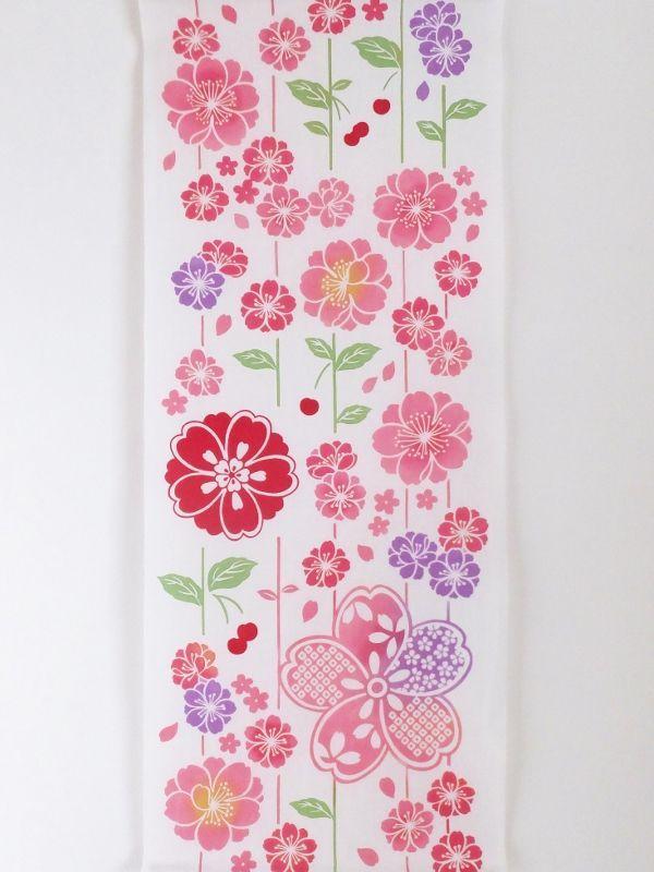 画像3: 手ぬぐい さがり桜