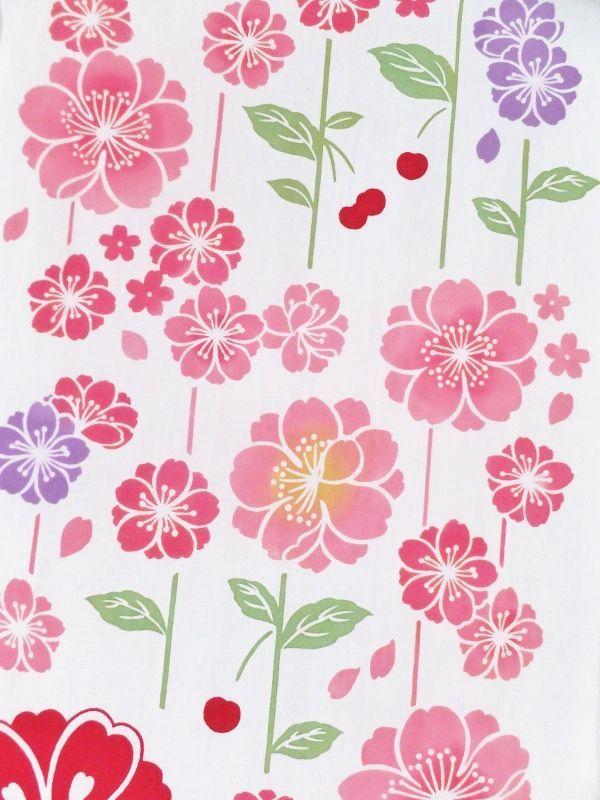 画像2: 手ぬぐい さがり桜