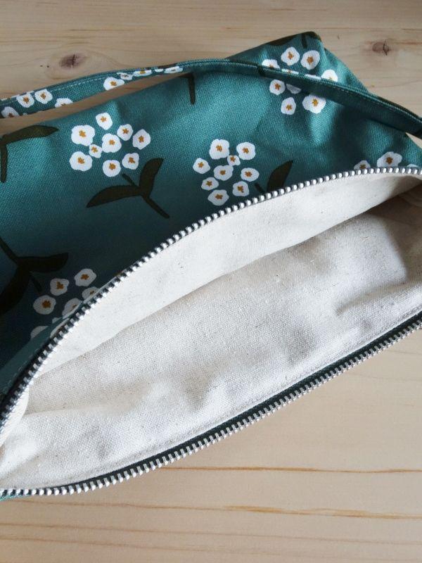 画像5: 平かばん 花化粧