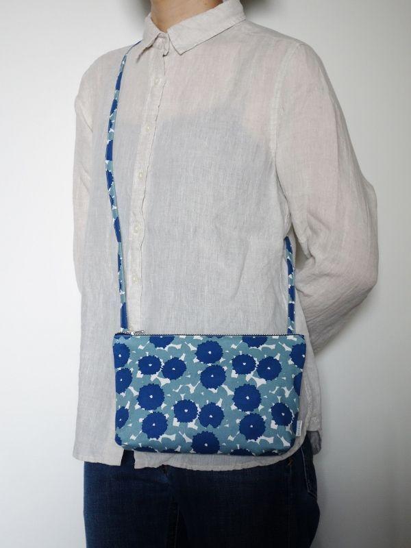 画像2: 平かばん 花化粧