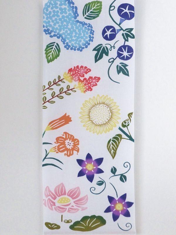 画像3: 手ぬぐい 夏の花