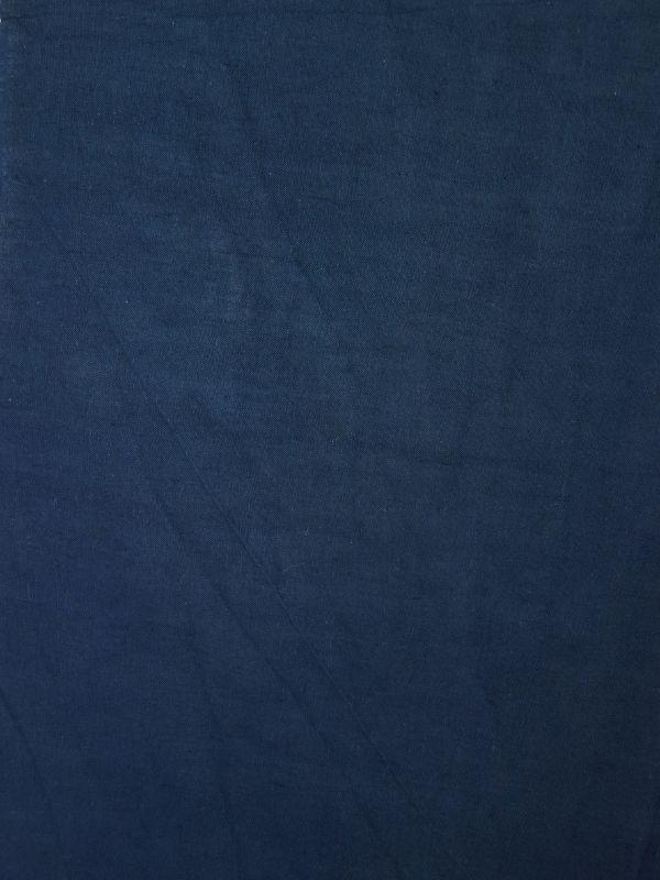 画像2: 綿麻手ぬぐい 紺