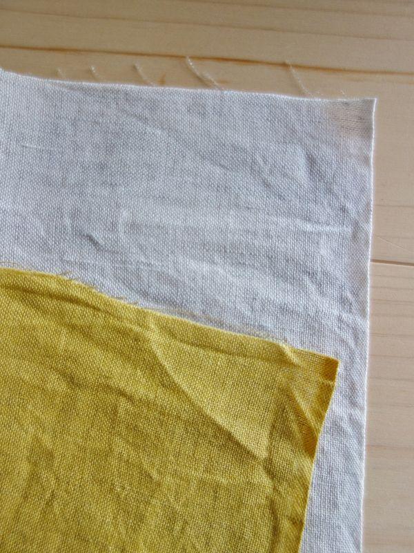 画像4: 綿麻手ぬぐい 紺