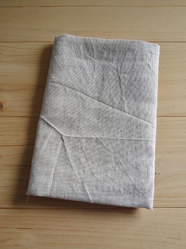 画像1: 綿麻手ぬぐい 生成