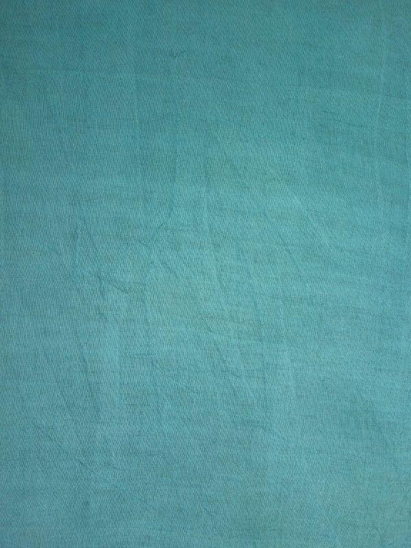 画像2: 綿麻手ぬぐい 浅葱