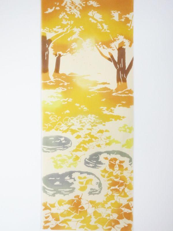 画像3: 手ぬぐい 銀杏の絨毯