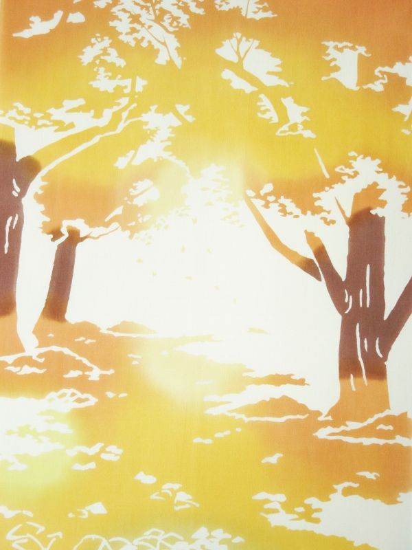 画像1: 手ぬぐい 銀杏の絨毯
