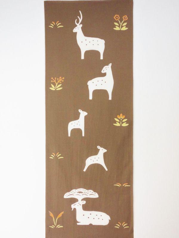 画像3: 手ぬぐい 奈良鹿