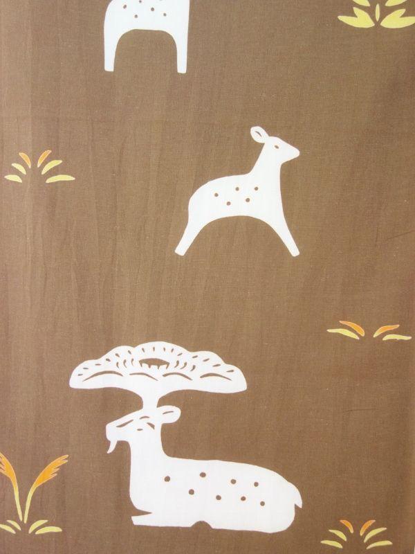 画像2: 手ぬぐい 奈良鹿