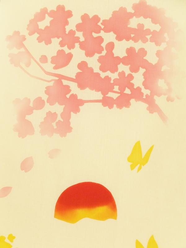 画像1: 手ぬぐい 春はあけぼの (1)