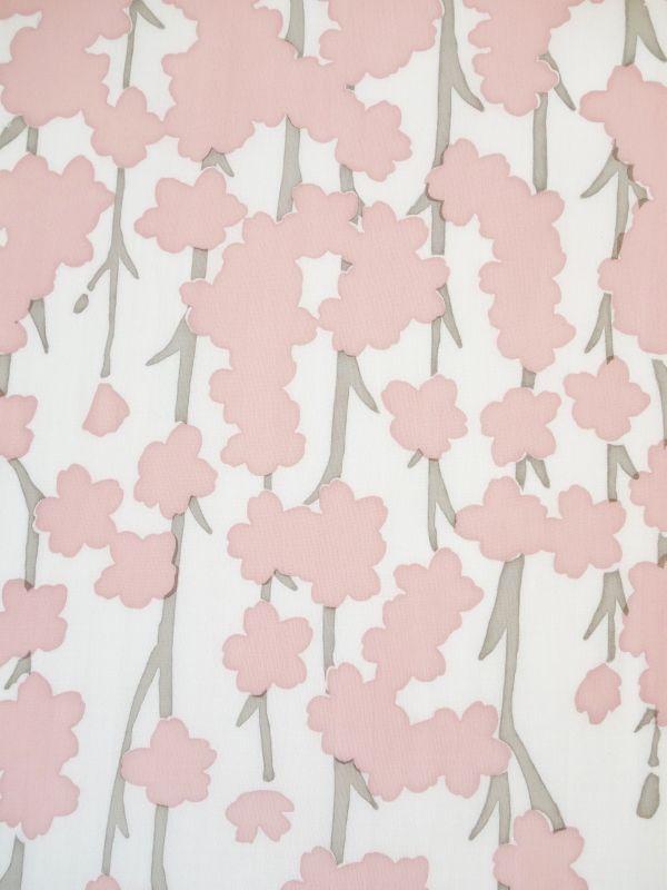 画像1: 手ぬぐい しだれ桜 (1)