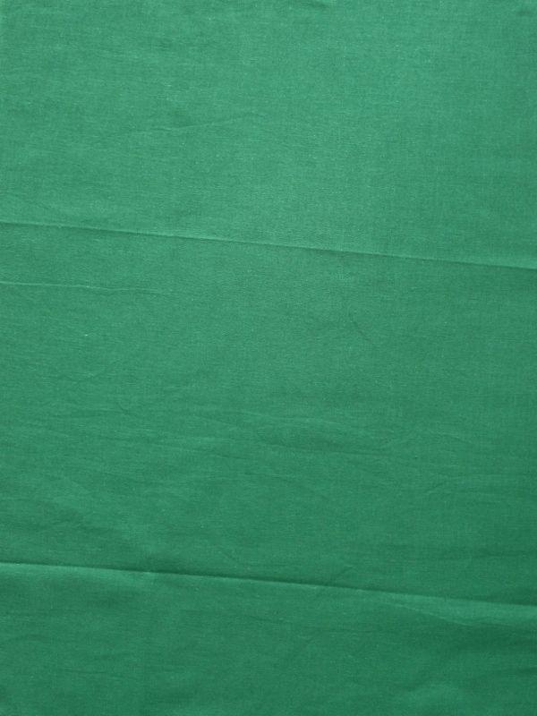 画像1: 無地手ぬぐい 緑 (1)