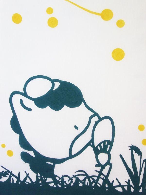 画像1: 手ぬぐい ぐんまちゃん 夏の夜 (1)