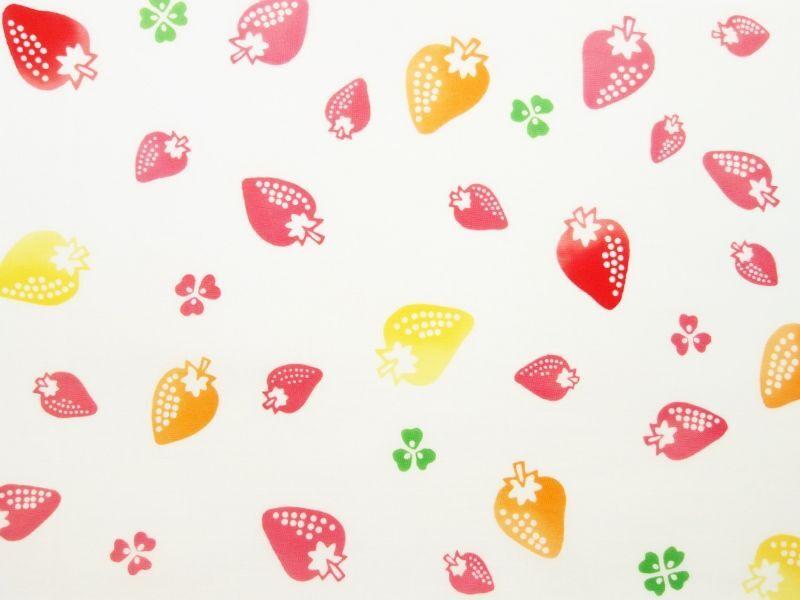 画像1: 手ぬぐい イチゴ (1)