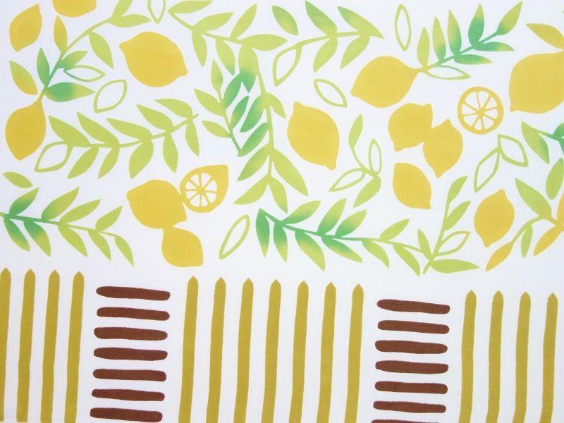 画像1: 手ぬぐい limone (1)